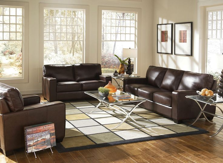 Stop By @furnituresworld To See A Variety Of Lazzaro Leather Furniture!  #Leather