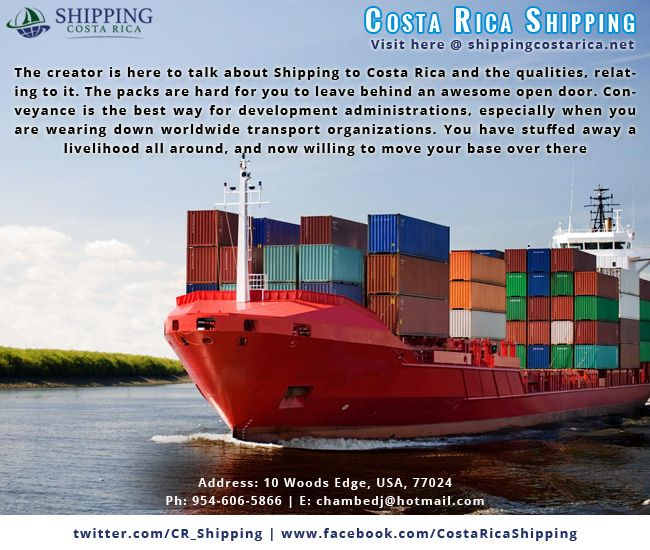Costa Rica shipping offers quality services in all seasons and takes affordable charges for all types of shipping.