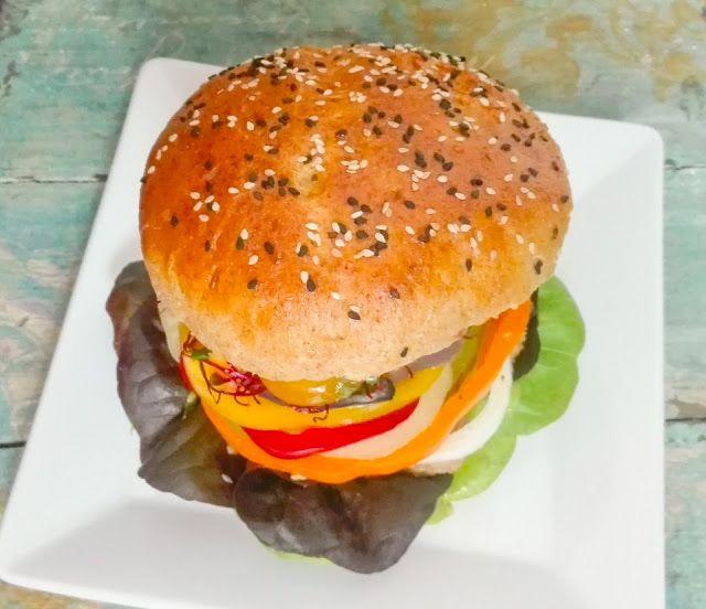 burger na parze