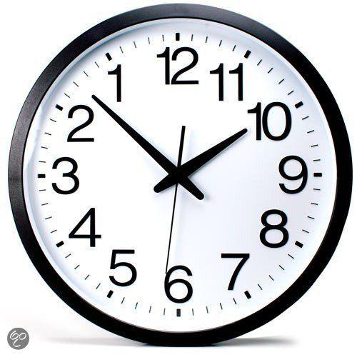Backwards Clock: De backwards klok is een zeer originele klok die voor vele hilarische uurtjes zal zorgen! De wijzers van… #gadget #cadeau