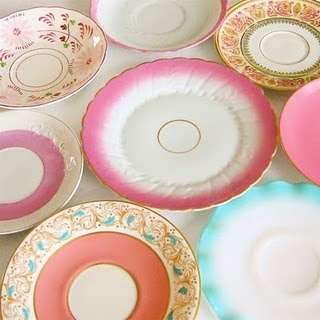 Beautiful and Inexpensive Dinner Plates by Amy Suardi  MISMATCHED VINTAGE PLATES. Collecting plates like these beauties from yard sales thrift stores ... & 15 best Vintage dishes images on Pinterest | Vintage dishes Dish ...