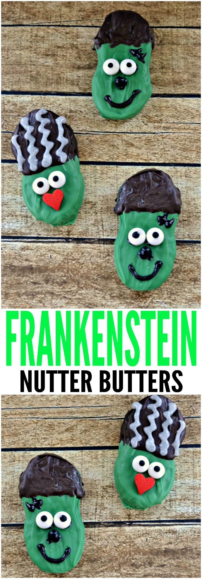 These Frankenstein Nutter Butters are so much fun to bring to 'life', you and your kids will have a blast! Click Now!