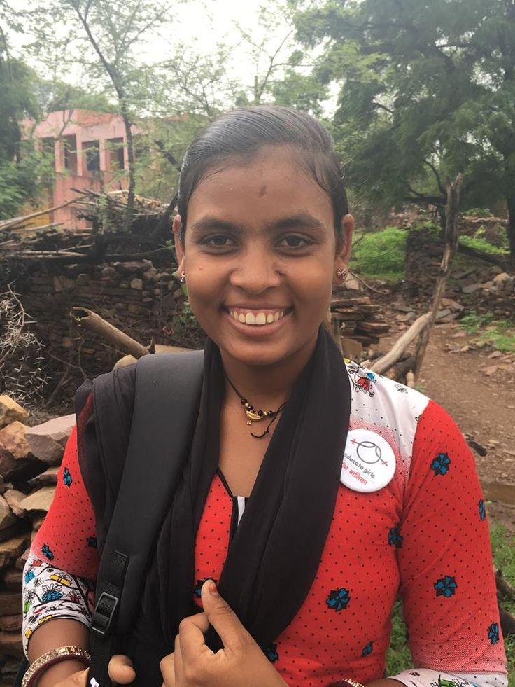 Shanti Prajapati -Team Balika Volunteer
