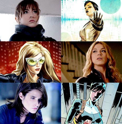 Agents of SHIELD show vs comics characters......I'd love to see Agents of SWORD come to life somehow (Agent Brand is the best)