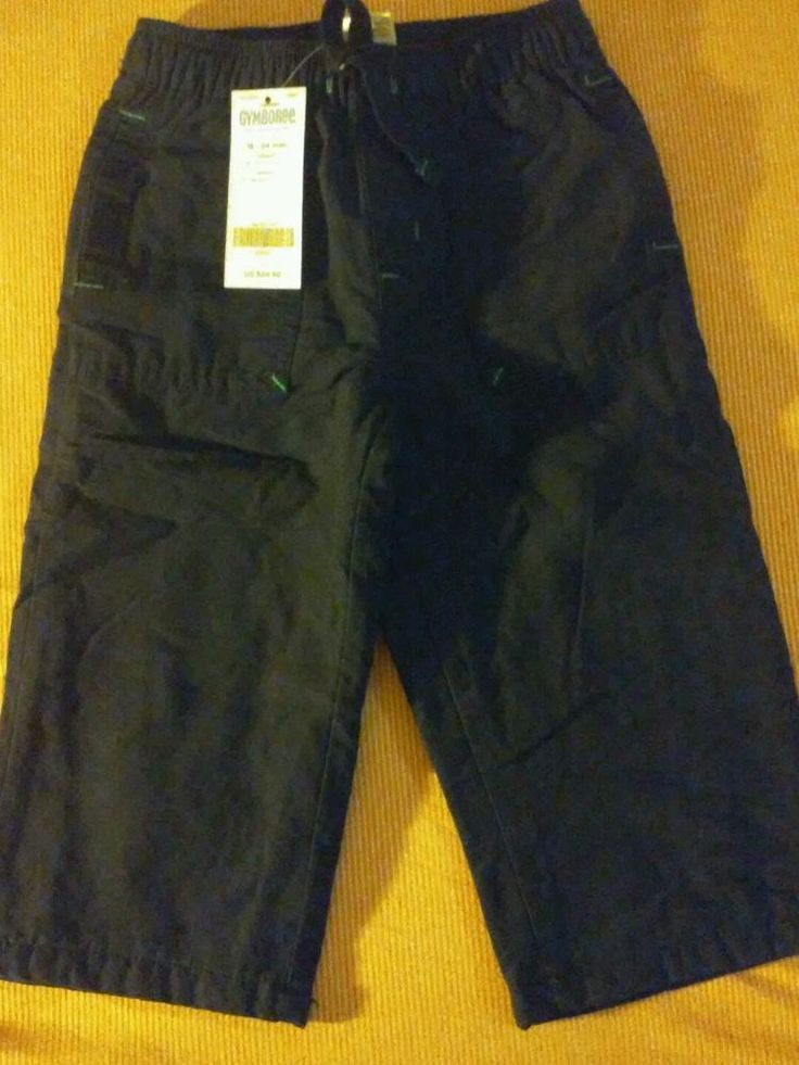 Gymboree NEW W TAG Navy Pull on Pant, Size 18-24 Months #Gymboree #Pants #Everyday