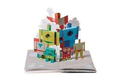 Beeindruckendes Pop-up Buch für Jungs (Mein Roboter ist wasserscheu!), erstellt von ForeverAngel - LovelyBooks