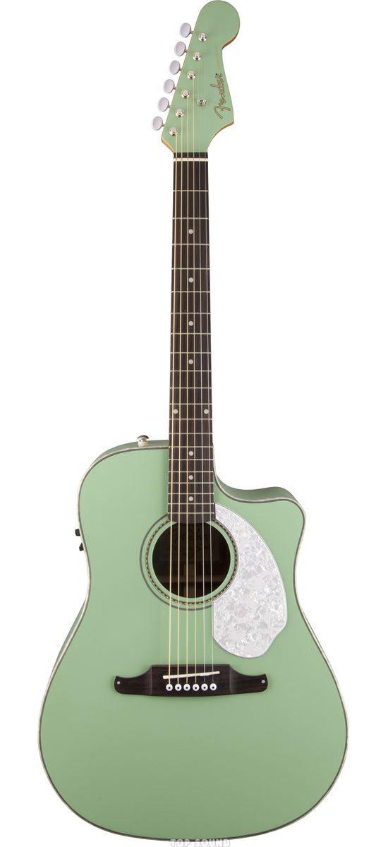 KITARAT :: Akustiset kitarat :: FENDER Kitarat :: FENDER SONORAN SCE SURF GREEN - Top Sound -Helppoa ja mutkatonta soitinkauppaa