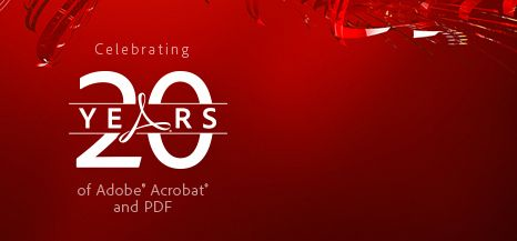 Happy 20th Anniversary Adobe Acrobat and PDF « Adobe Document Services