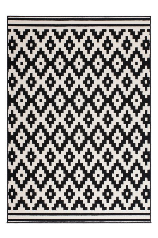 Stella Cream Black Rug Study Rugs In