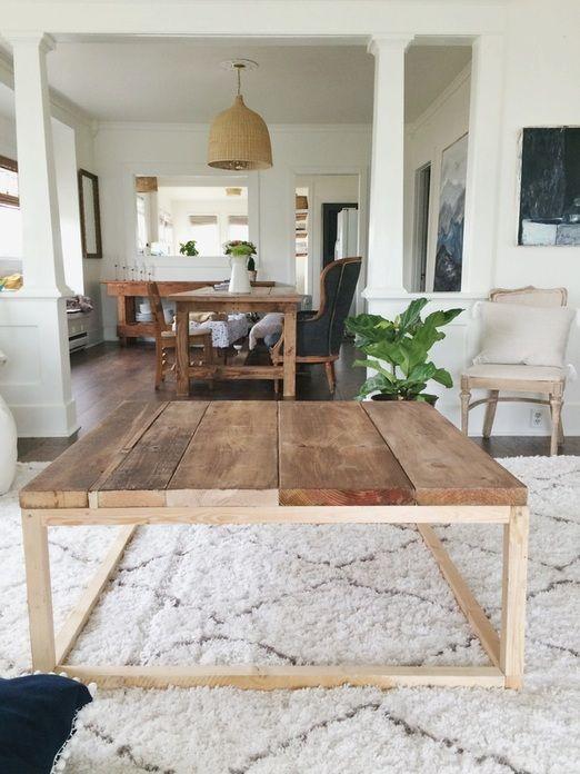 Diy Coffee Table Home Renovation Blog Thimbleandcloth
