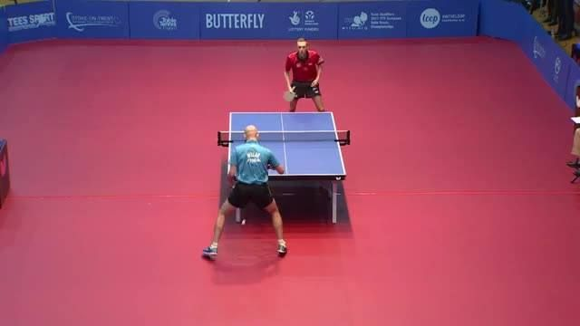 Table Tennis England vs Greece - European Championships Qualification