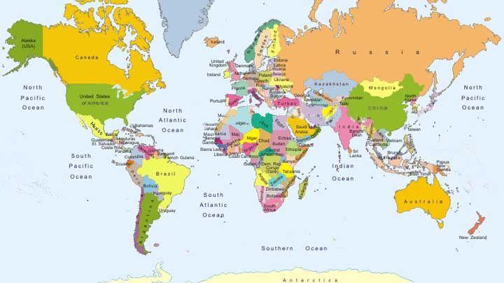 Alaska World Map Download Australia Location Major Tourist | Map ...