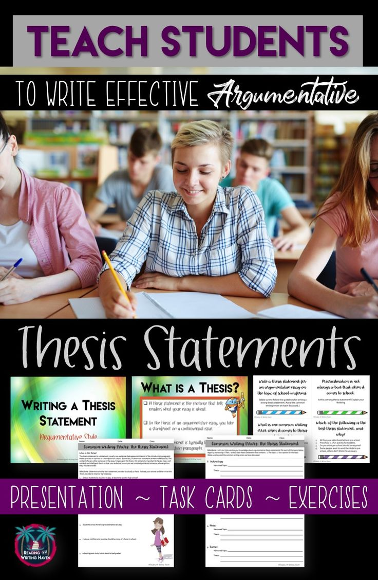 thesis statement writing lesson Write your thesis statement in a word document and save it to your computer as lastnamethesis it may help your readers if you make the thesis statement stand out in.