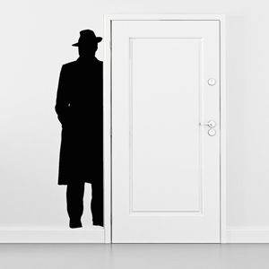 Stikka wallsticker Anonymous 0943