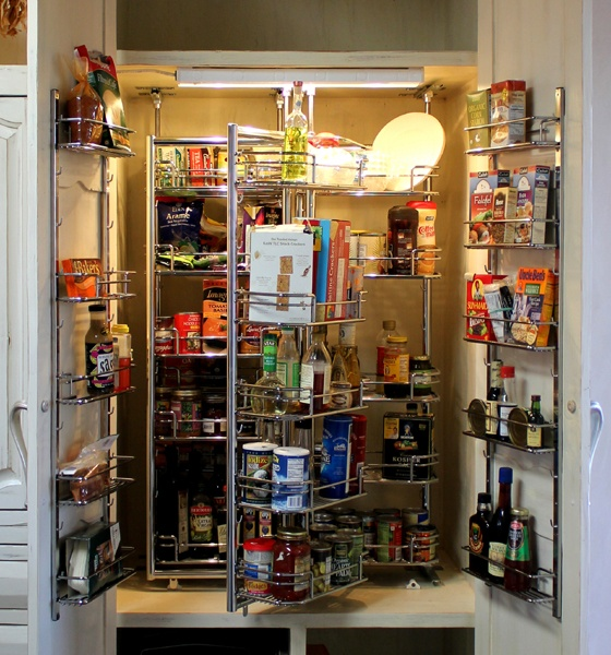 73 best images about lighting automatic closet pantry for Automatic kitchen cabinets