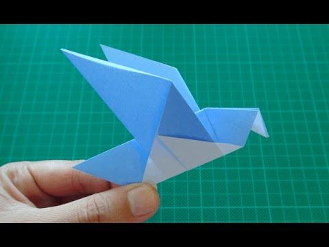Best 25 origami bird easy ideas on pinterest origami bird how to fold an origami flapping bird with an extra camera angle tutorial to understand how to fold a traditional origami bird this is an action origami sciox Choice Image