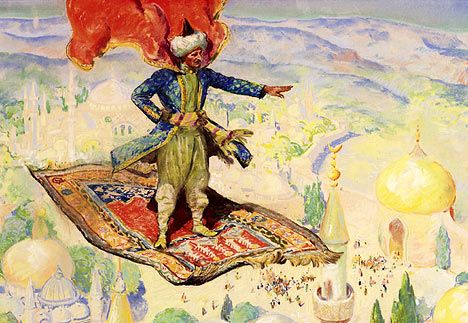 Magic Flying Carpet | Does A Flying Carpet Exist? | Nazmiyal Blog