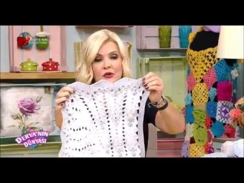Derya Baykal Bebek Battaniyesi Yapımı - YouTube