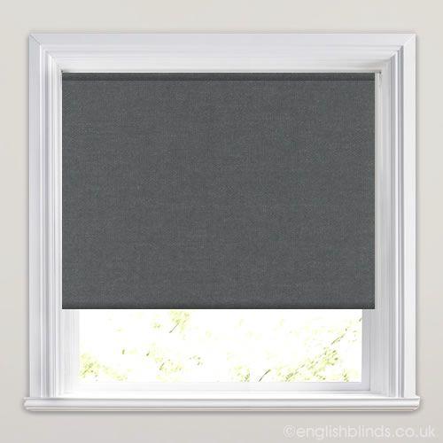 Graphite Grey Blackout Roller Blind