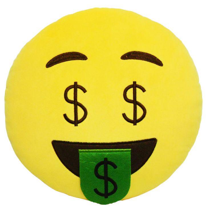 Need Money Emoji Pillow