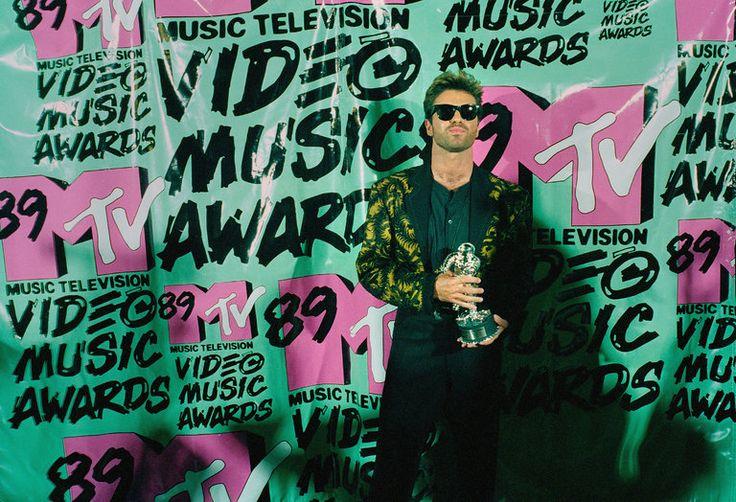 George Michael 1989 MTV Video Music Awards