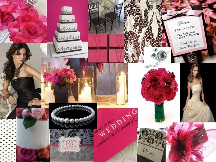 Pink And Black Wedding Ideas: 17 Best Ideas About Pink Black Weddings On Pinterest