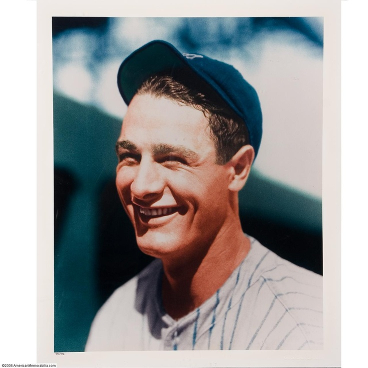 lou gerhig of the yankees the iron horse a true baseball hero