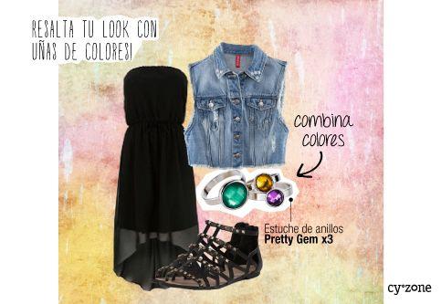 #PrimerasVecesbyCyzone - Pinto mis uñas de muchos colores