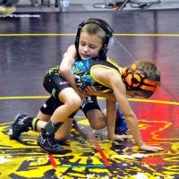 Wrestlers from all over the state competed in third annual AAU tournament