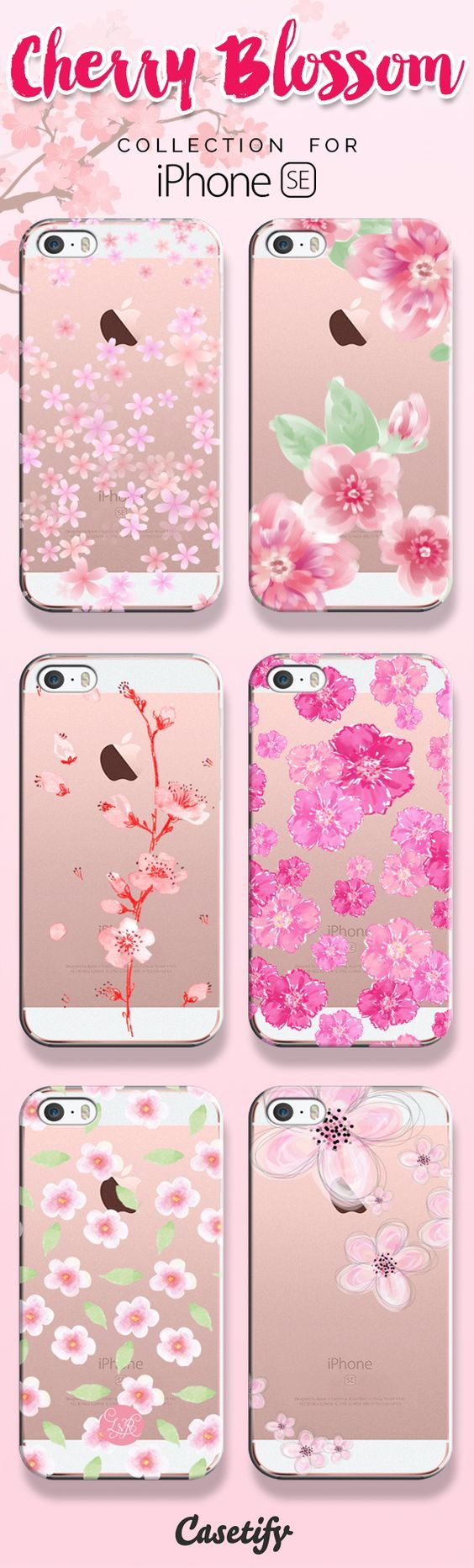 Where flowers bloom so does hope.. Shop these beautifully designed cherry blossom cases here: https://www.casetify.com/search?keyword=blossom   @casetify: