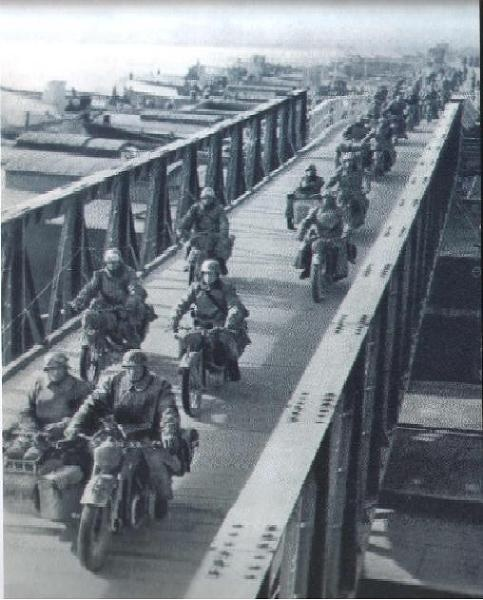The German Wehrmacht invades Greece on April 6, 1941.