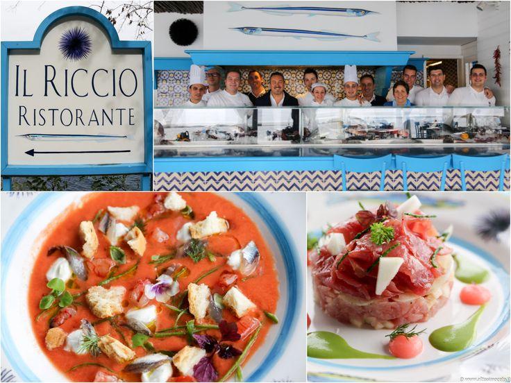 Ristorante Il Riccio del Capri Palace Hotel – Anacapri (NA) – Excutive Chef Andrea Migliaccio, Chef Giovanni Bavuso #ViaggiatoreGourmet #AltissimoCeto