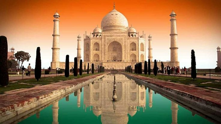 Depicting true colours of Indian Flag: Saffron, White and Green; here is a picture of Taj Mahal we are kind of stunned by.   What are your thoughts?  #India #Agra #TajMahal #symboloflove #UttarPradesh #travel #trip #tour #yolo #usa #UCLA