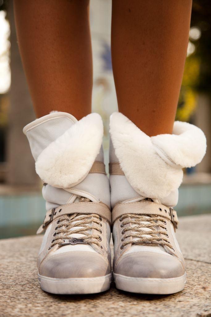 Offwhite apres-ski-Sneakers by GINO-B