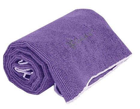 Gaiam 05-59189 Restore Thirsty Yoga Hand Towel - Deep Purple-Gaiam 05-59189 Restore Thirsty Yoga Hand Towel - Deep Purple