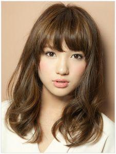 Model rambut wanita sesuai bentuk wajah jepang