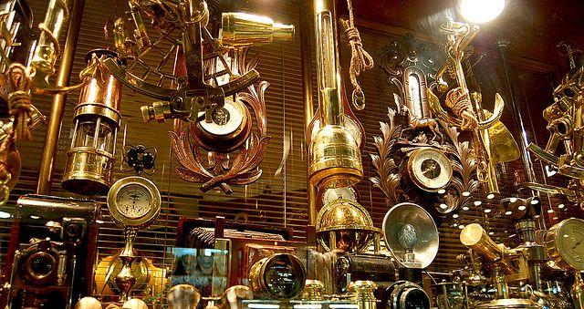Steampunk antiques
