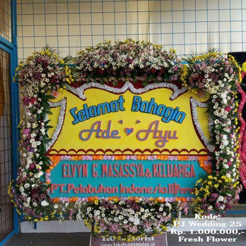 Karangan Bunga di Kota Medan