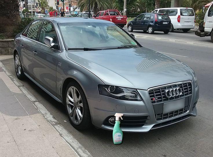 El #Audi S4 brilla de manera Espectacular con Magic Clean Car deja Tu Auto Limpio y brillantemente encerado de una sola vez y sin usar agua #lavasinagua #lavaenseco