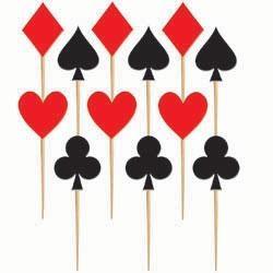 Casino Cardsuit Party Pics (Cupcakes)