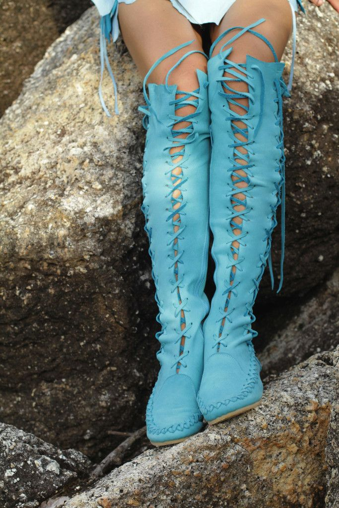 mermaid s knee high boots for pre order high