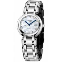 Longines PrimaLuna Automatic Mother Of Pearl Dial Automatic Ladies Replica Watch L8.111.4.87.6