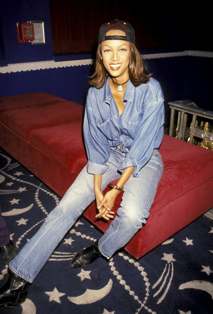 Tyra Banks. Fresh prince era?