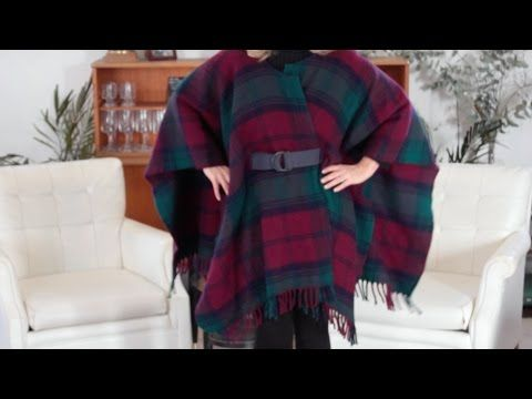 Wrap Up in Style With This DIY Wool Blanket Coat | eHow