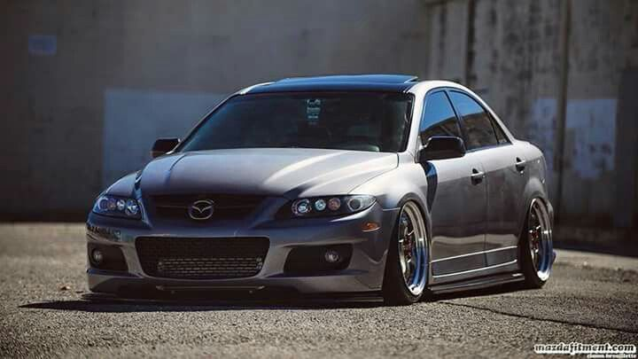 Mazdaspeed 6 slammed stanced