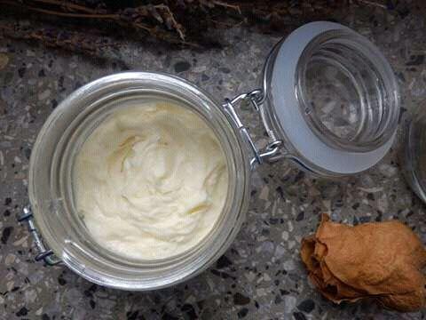 Šlehané tělové máslo