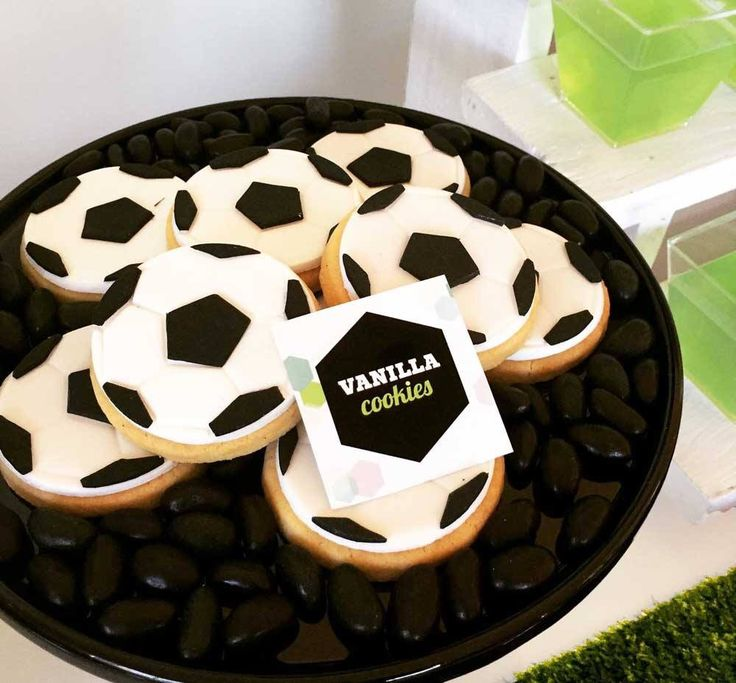 Soccer Dessert Table - Kids Soccer Party designed by It's Styled