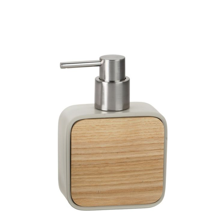 Andrea House Soap Dispenser Polyresin Beige Wood   28. 78 Best images about Soap Dispensers on Pinterest   Glass bottles