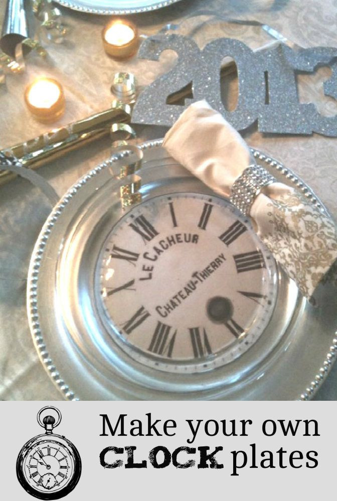 fresh idea whimsical clocks. a new year s eve dinner  Banquet DecorationsClock IdeasVintage 35 best Clocks images on Pinterest Vintage clocks