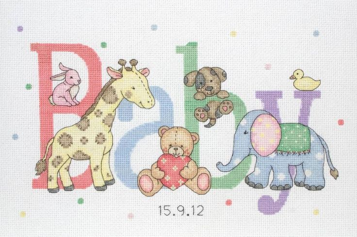 Free Baby Cross Stitch Patterns | This post appears in... Product Focus